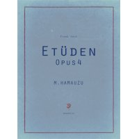 "Piano Score ""Etude Opus 4"""